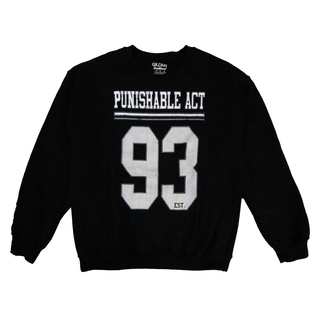 Punishable Act - est. 93 black