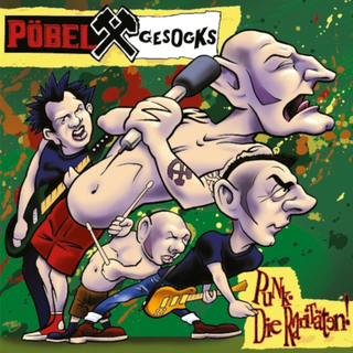 Pöbel & Gesocks - punk - die raritäten ltd. green LP