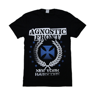 Agnostic Front - blue iron cross