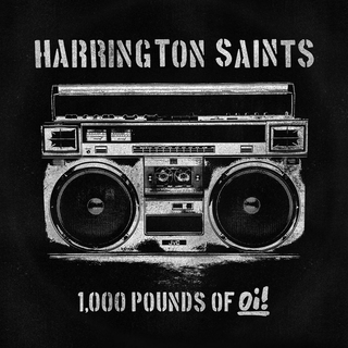 Harrington Saints - 1.000 pounds of oi! piss yellow LP+DLC