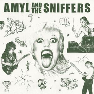 Amyl And The Sniffers - same black LP