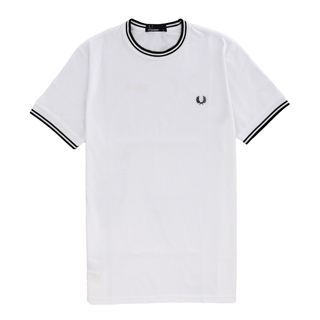 Fred Perry - twin tipped T-Shirt M1588 white 100 S