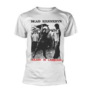 Dead Kennedys - holiday in cambodia white