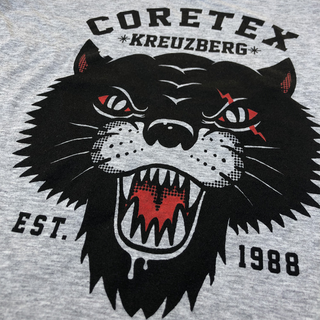 Coretex - panther heather grey girlie tanktop