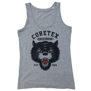 Coretex - panther heather grey girlie tanktop XL