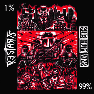 Subhumans / Restarts, The - split