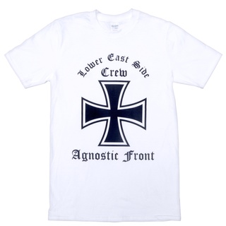 Agnostic Front - lower east side crew white S
