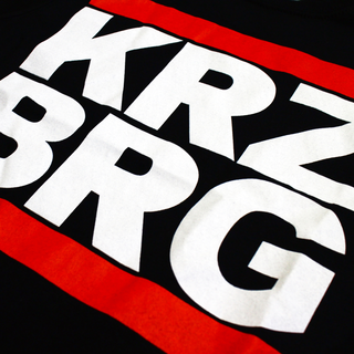 KRZ BRG - logo black wide neck