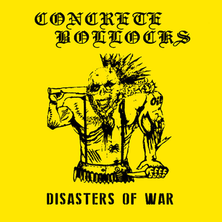Concrete Bollocks - disasters of war