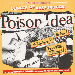 Poison Idea - legacy of dysfunction pink LP+DLC