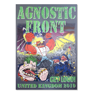 Agnostic Front - Get Loud / United Kingdom (Signed)