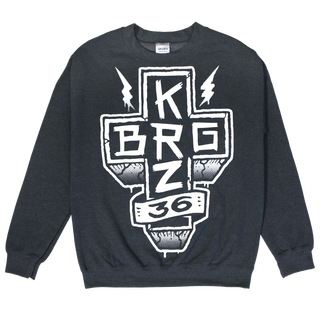 KRZ BRG - 36 dark heather
