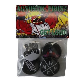 Agnostic Front - Button Set