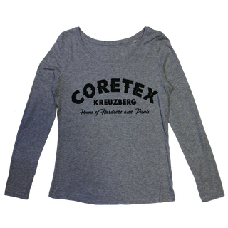 Coretex - logo heather grey