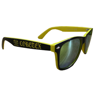 Coretex - keep your distance yellow sunglasses