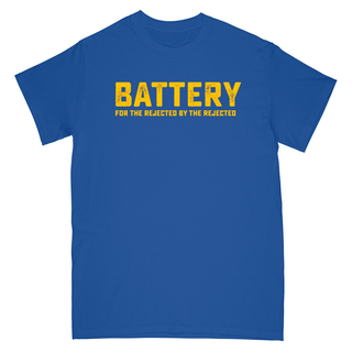Battery - for the rejected by the rejected royal blue