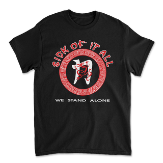 Sick Of It All - We Stand Alone Black PRE-ORDER