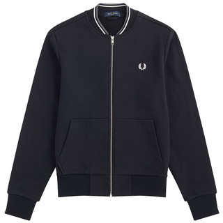 Fred Perry - Zip Through Sweatshirt J7504 black 184