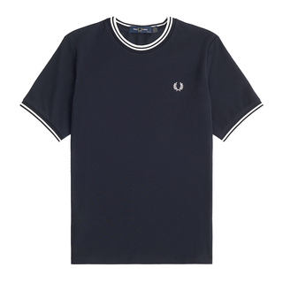 Fred Perry - Twin Tipped Pique T-Shirt G9137 navy 608