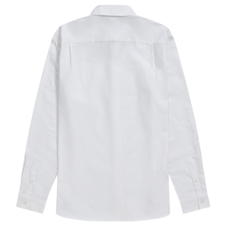 Fred Perry - Oxford Shirt M8501 white 100