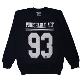 Punishable Act - est. 93 navy/white