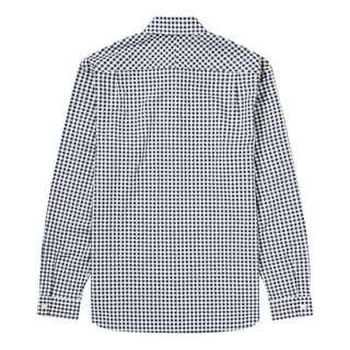 Fred Perry - Gingham Long Sleeve Shirt M9500 carbon blue 266