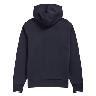 Fred Perry - Hooded Zip Through Sweatshirt J7536 navy 795
