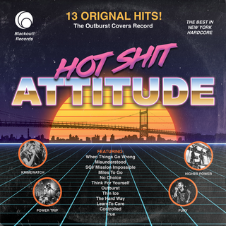 V/A - Hot Shit Attitude: The Outburst Covers Record