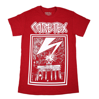 Coretex - Lightning cherry red/white